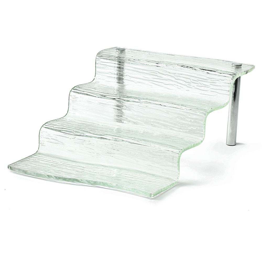 Tablecraft AW4 Cristal Collection Four Step Waterfall, 12.25 in Length, Acrylic