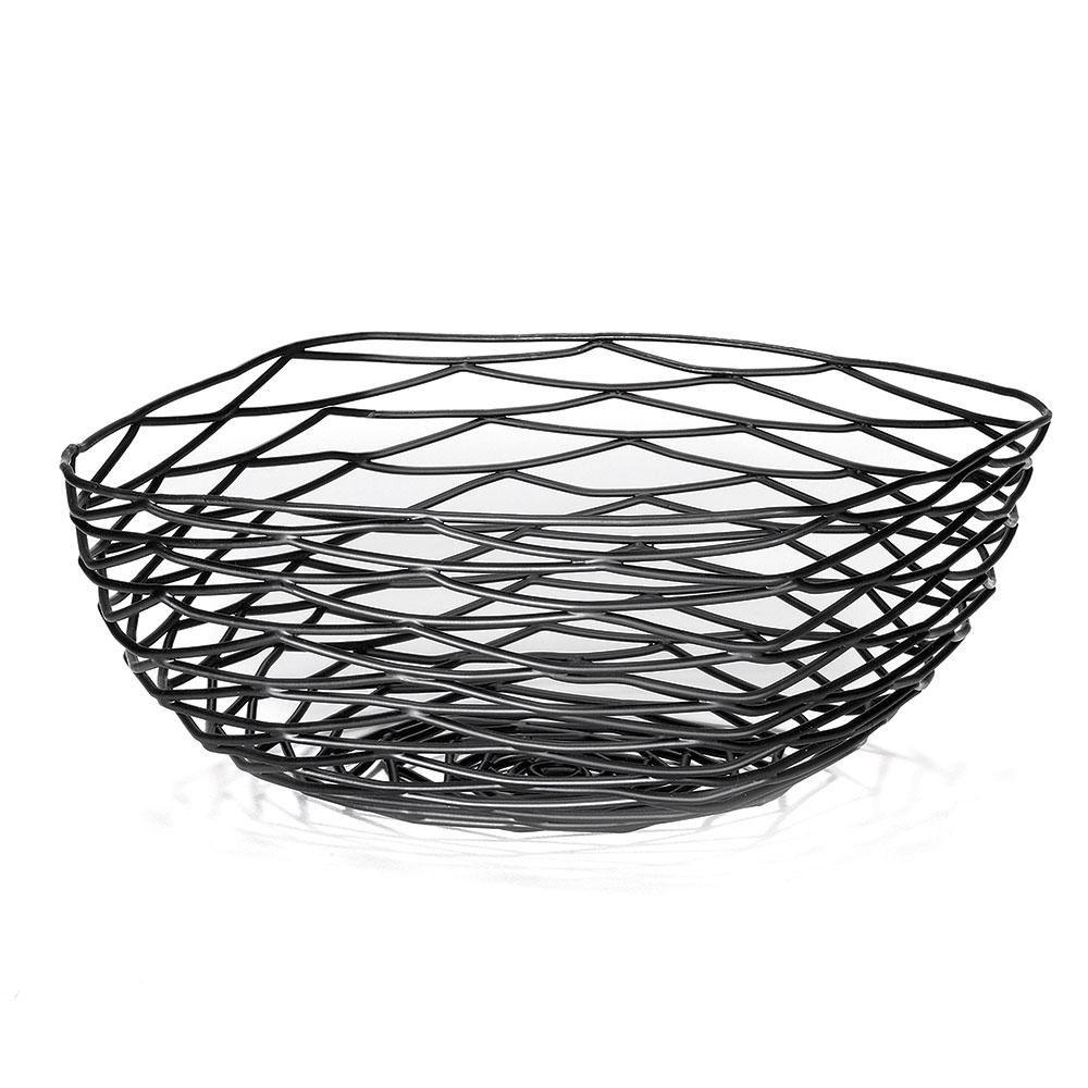 Tablecraft BK17310 Square Artisan Collection Basket 10 x 4 in Restaurant Supply