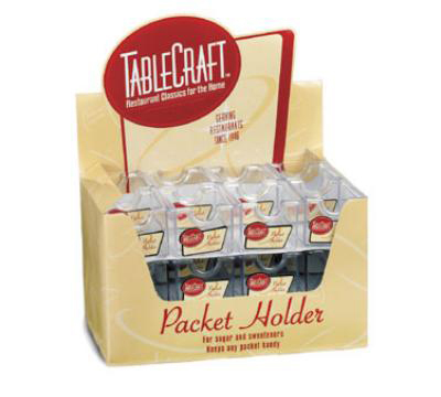 Tablecraft H56CD Sugar Packet Holder Acrylic Restaurant Supply