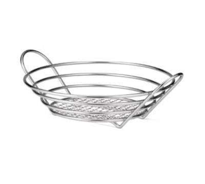 Tablecraft H7175 Round Display Basket 12 x 3.25 in Restaurant Supply