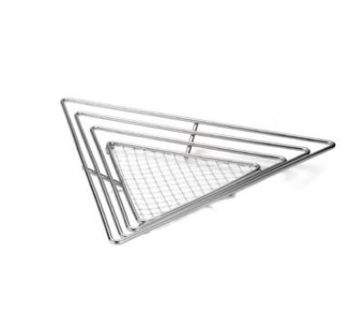 Tablecraft H7178 Triangular Display Basket 15.75 x 1.75 in Restaurant Supply