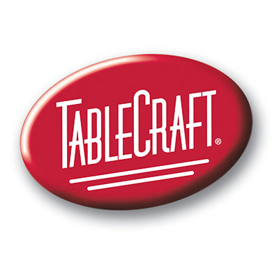 Tablecraft DP53 Black Drip Tr