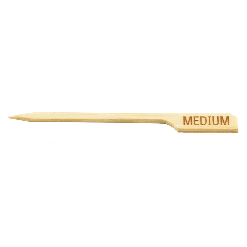 Tablecraft MEDIUM 3.5-in Bamboo Meat Marker Pick, Medium