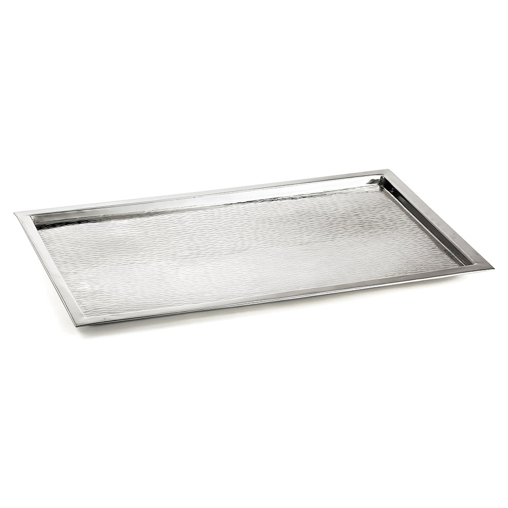 Tablecraft RPD2415 Rectangular 18-8 Stainless Steel Tray,