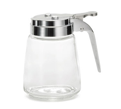 Tablecraft 1370CP 8-oz Glass Dispenser, Chrome P