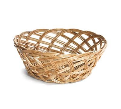 Tablecraft 1635 Willow Basket, 9 x 3-1/3-i