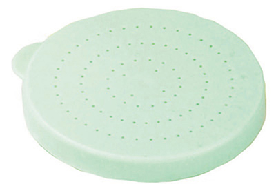 Tablecraft 166BT Universal Dredge Lid, Poly, Snap Tight, Green