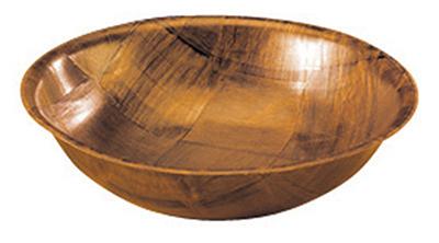 Tablecraft 210 10-in Woven Wood Salad