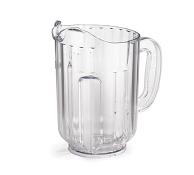 Tablecraft 360A 60-oz Pass-N-Pour Pitcher, Polycarbonate