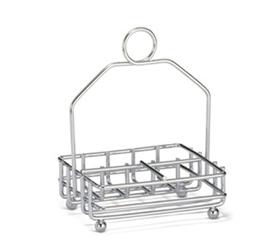 Tablecraft 593R Chrome Plated Combination Rack, Fits 1-7/8-in Salt/Pepper Shakers