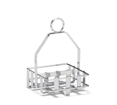 Tablecraft 607R Condiment Rack, Fits Up To 1-7/8-in Diameter Salt/P