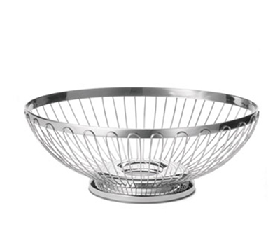 Tablecraft 6176 Oval Regent Basket, 11 x 8-1/4
