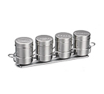 Tablecraft 759X 6-oz Coffee Shaker Set, Includes 4-Ring Chrome Plated Metal R