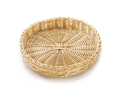 Tablecraft HM1169Y Round Basket, 12 x 2