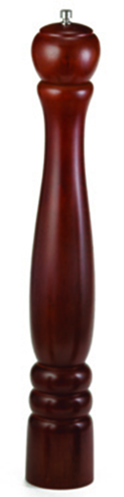 Tablecraft PM1918 18-in Mahogany Wood Finish Pepper Mill