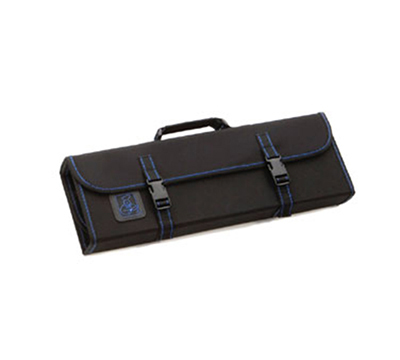 Tablecraft E1110 Black Ballistic Nylon Knife Case, Hard Core, Holds 10 Knives/Tools
