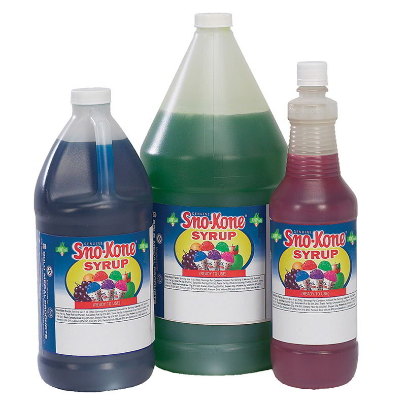 Gold Medal 1052 Ready-To-Use Flavor Syrup, Grape, (4) 1-Gal