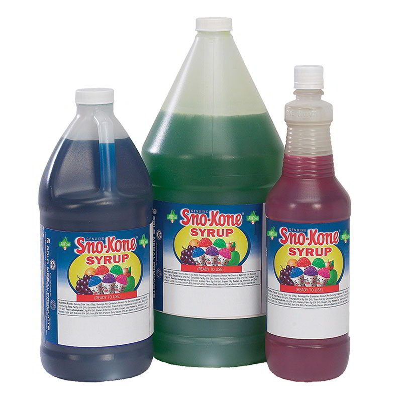 Gold Medal 1057 Ready-To-Use Flavor Syrup, Bubble Gum,