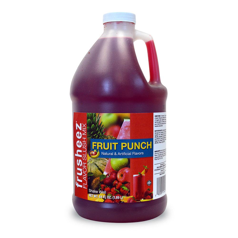 Gold Medal 1244 Frusheez Mix, Fruit Punch, (6) 1/2 Gallons Per Case