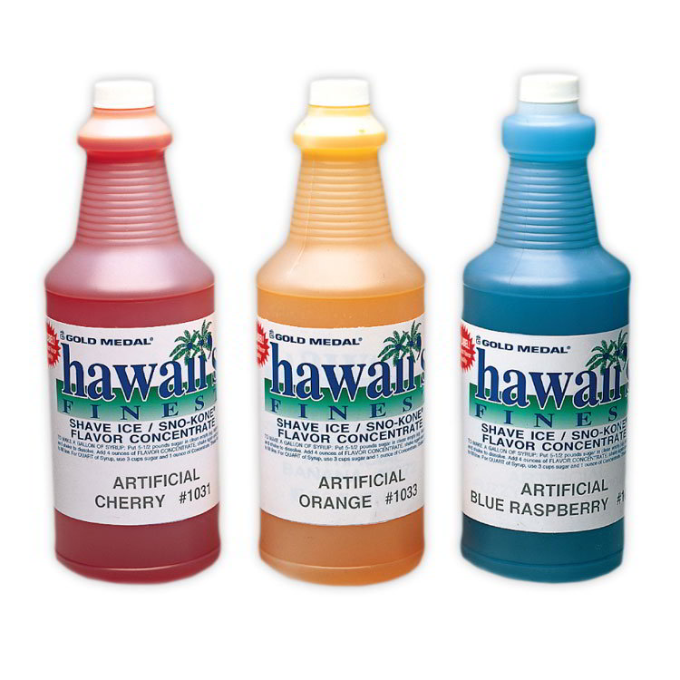 Gold Medal 1373 Hawaiis Finest/Sno-Kone Concentrates,