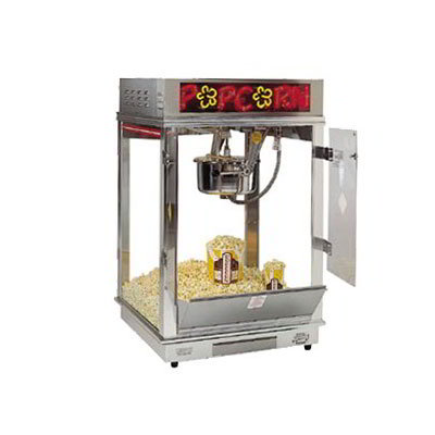 Gold Medal 2023E 120208 Astro Pop 16 Popcorn Machine w/ 16-oz Unimaxx K