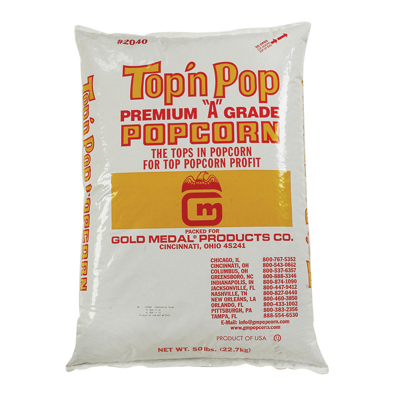 Gold Medal 2040 50-lb Top N Pop Corn