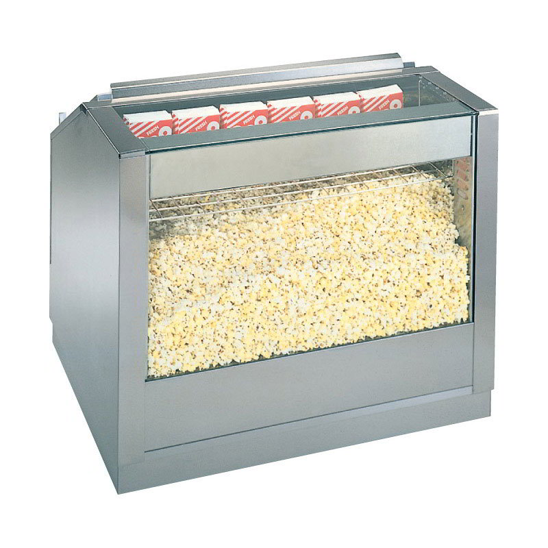 Gold Medal 2343 Popcorn Staging Cabinet 30 in W Front Counter Drop In Warmer Restaurant Supply