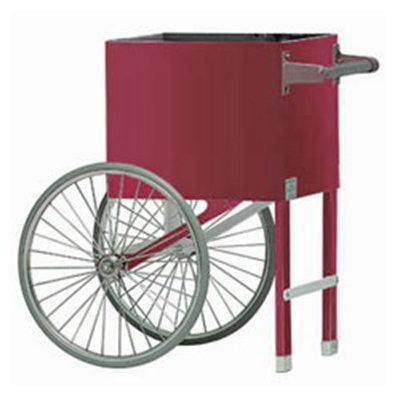 Gold Medal 2659CMP Popcorn Cart w/ 2-Spoke Wheels, Plain