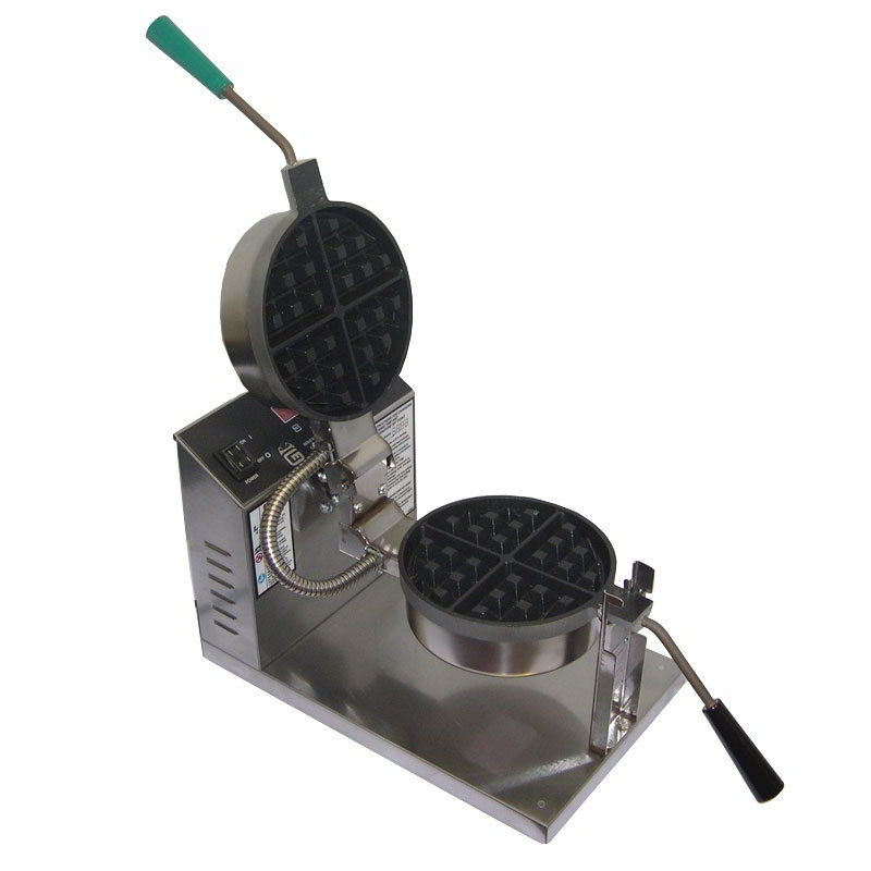 Gold Medal 5021ET Belgian Waffle Baker w/ 7.25-in Non-Stick Grid & Electronic Controls