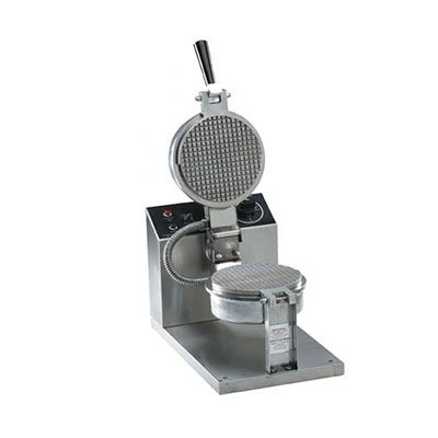 Gold Medal 5023E Small Waffle Cone Baker w/ 6.5-in Grid & Electronic Controls