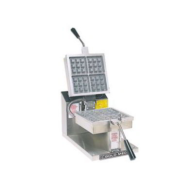 Gold Medal 5024EX Belgian Waffle Baker, (4) Square, 4 x 4-in, 230/50/1
