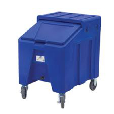 Gold Medal 1025 Mobile Snow-Kone Ice Chest w/ 90-lbs of Ice & Side Shelf