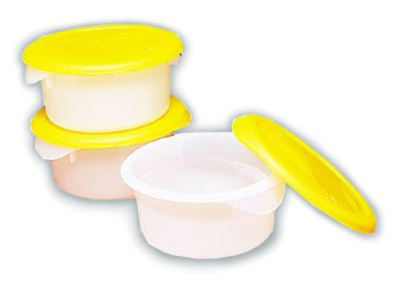 Gold Medal 1085 .5-gal Round Ice Mold w/ Lids, Plastic