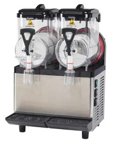 Gold Medal 1414 Compact Frusheez Machine w/ (2) 1.5-gal Bowls & Spill Protect