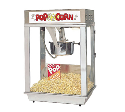 Gold Medal 2001ST 120240 Citation Popcorn Machine w/ Deluxe 16-oz