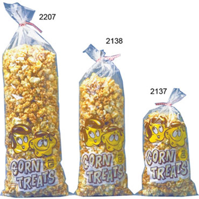 Gold Medal 2137 2.375-oz Disposable Corn Treat Bags, 1,000/Case