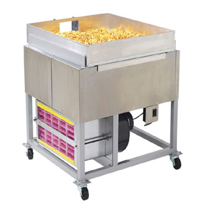 Gold Medal 2169KK Karamel Kool Regular Stand w/ Air Cooled Pan for 5 to 10-gal Mixers