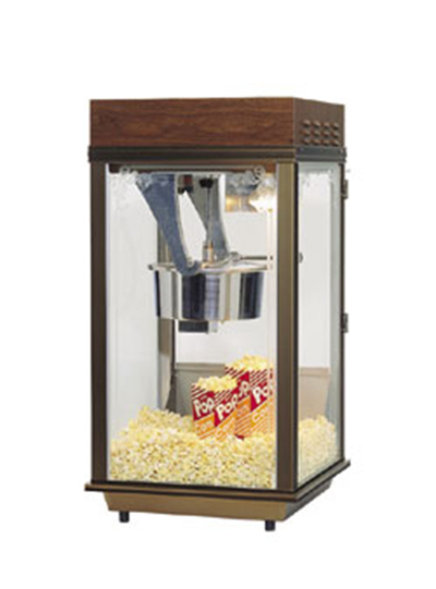 Gold Medal 2212 120240 Mega Pop Popcorn Machine w/ 250-oz/hr Capacity &