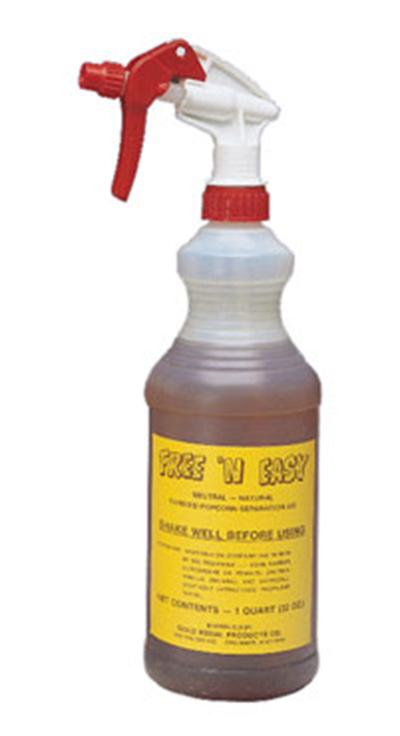 Gold Medal 2250 Free-N-Easy Candy Corn Separator, (12) Quart Bottles/Case