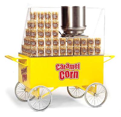 Gold Medal 2276 Lobby Master Caramel Corn Wagon w