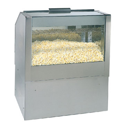Gold Medal 2344BS34 34-in Roller Base for 2344-Front or Back Counter Popcorn Staging Cabinet