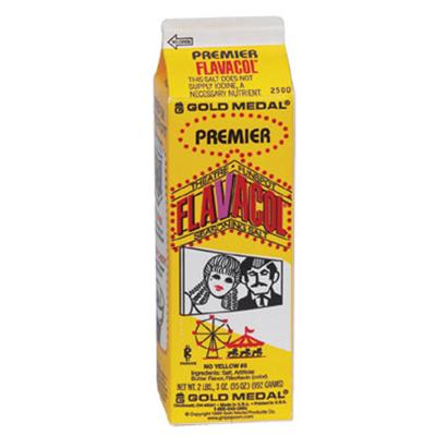 Gold Medal 2500 35-oz Premier Flavacol Seasoning Salt, 12/Case