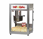 Gold Medal 2552 120208 Pop Maxx Popcorn Popper w/ 14-oz EZ Kleen Kettle & Stainless Dome, 120/208V