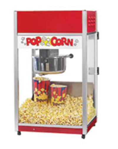 Gold Medal 2656CT 120240 Total Pop Popcorn Machine w/ 6-oz E