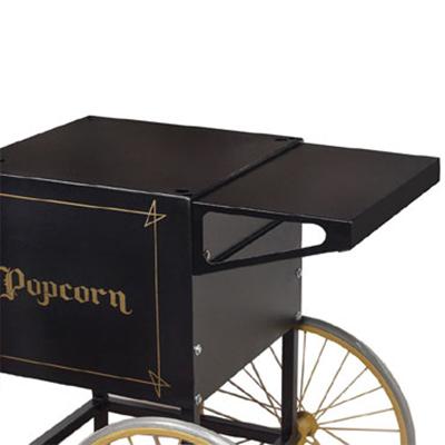 Gold Medal 2706BK Shelf for 2649-Popcorn Cart, Black