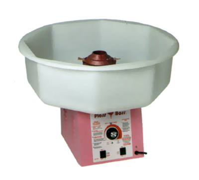 Gold Medal 3024 Full Size Floss Boss Cotton Candy Machine w/ Non-Metallic Floss Bowl