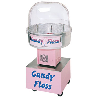 Gold Medal 3148FC Floss About Cotton Candy Cart w/ P