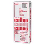 Gold Medal 3321 Plain Disposable Cotton Candy Cones, 1,200/Case