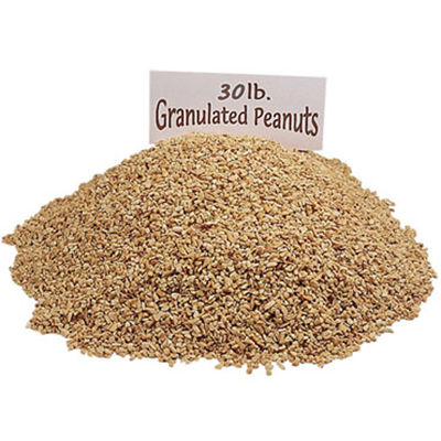 Gold Medal 4128 Granulated Peanuts, 30-lbs/Carton