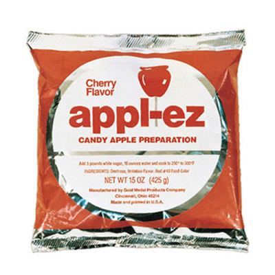 Gold Medal 4144 15-oz Appl-Ez Candy Apple Mix, Cherry, 15/Case